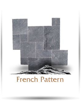 globus stone french pattern